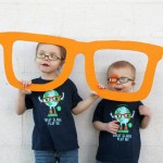 Prima pereche de ochelari a copilului tău