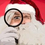 Moș Crăciun și cadouri pentru sănătatea ochilor